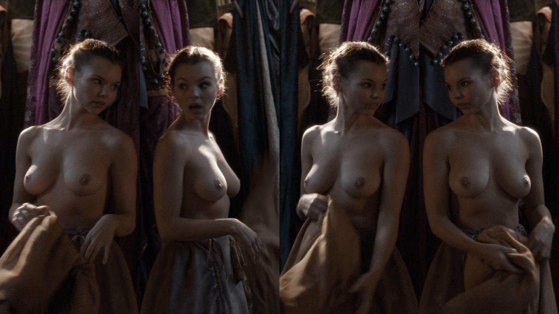 Naked Eline Powell In Game Of Thrones | Joss Picture Cam
