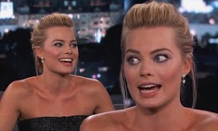 Margot Robbie lied to family about sex scenes with Leonardo ...