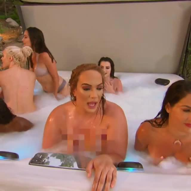 WWE Raw stars Nia Jax and Natalya go TOPLESS to join Paige ...