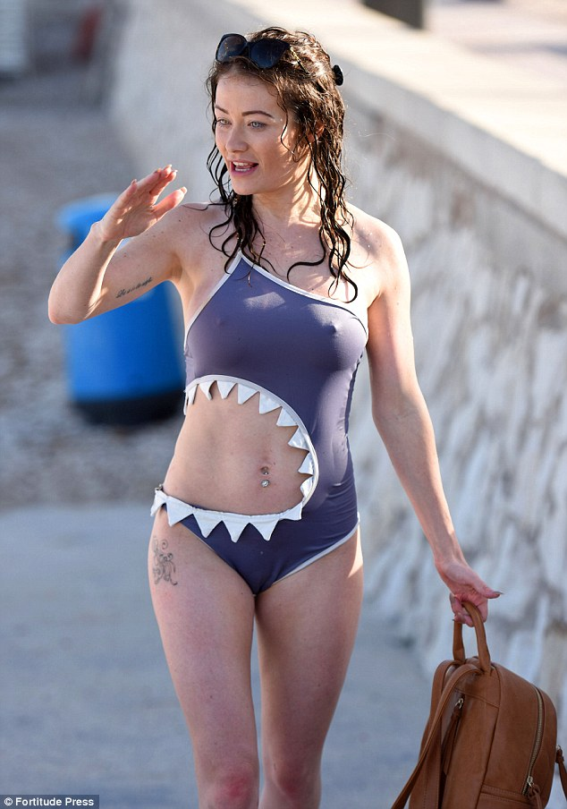 Jess Impiazzi flaunts her swimsuit body in Spain | Daily ...