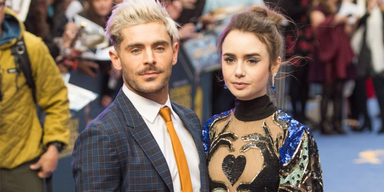 Zac Efron & Lily Collins Arrive At 'Extremely Wicked ...