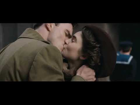 Tolkien Nicholas Hoult And Lily Collins Hot Kiss Scene