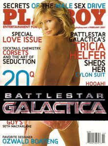 Cylon Babe Bares All