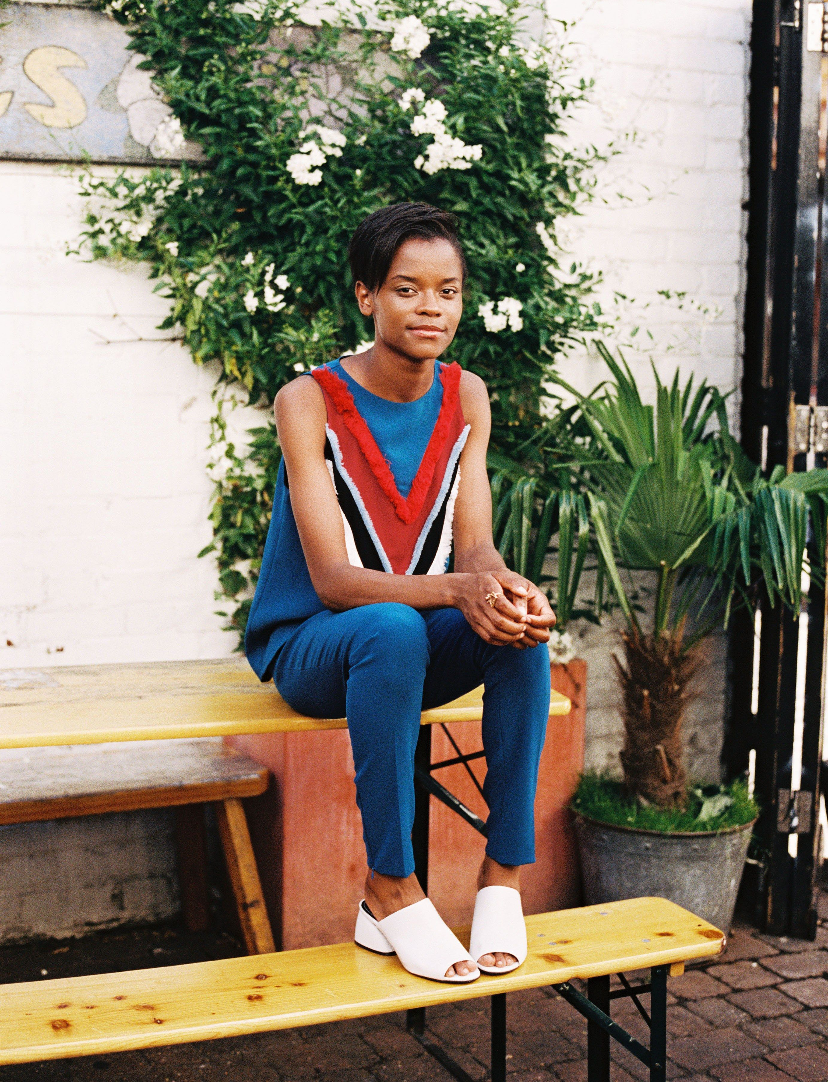 Actress Letitia Wright on Transforming Into a Superhero for Black ...