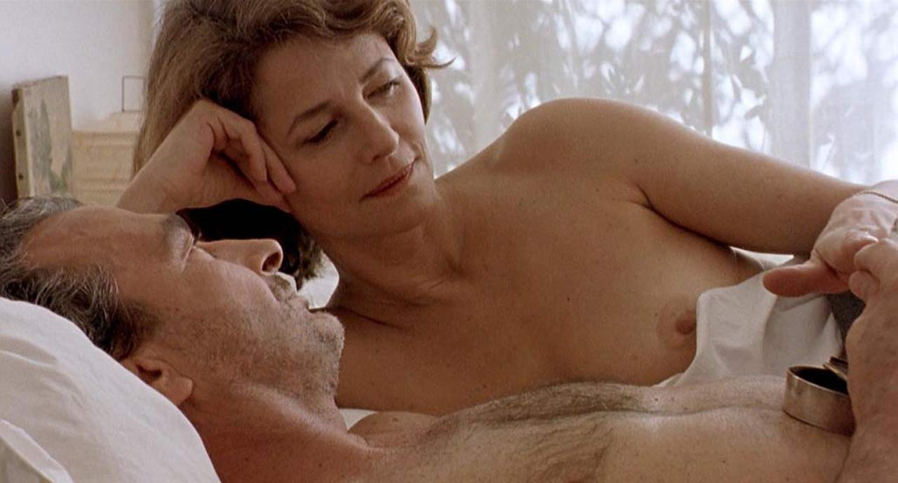 Charlotte Rampling Nude Sex Scene from 'Sous le sable ...