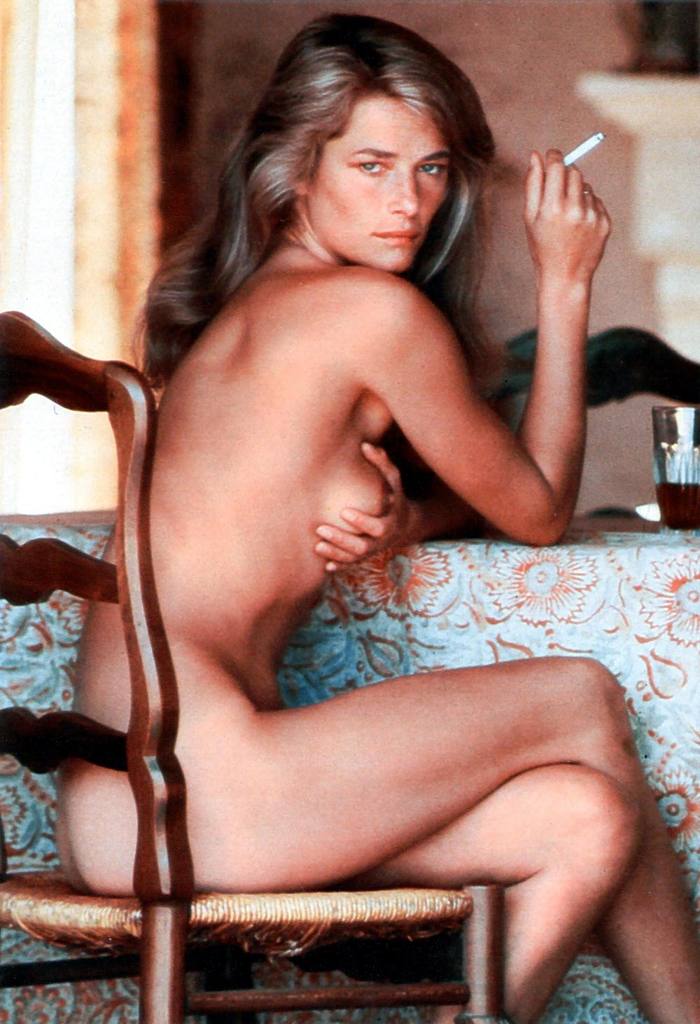Throwback Thursday: Charlotte Rampling in Playboy 1984