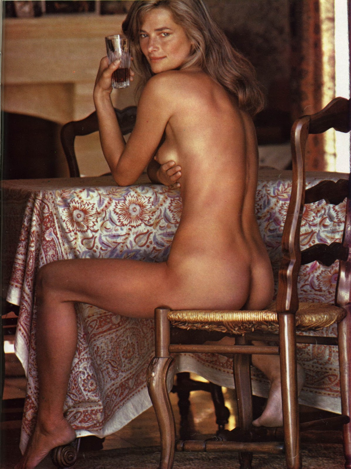 Charlotte Rampling for Playboy!