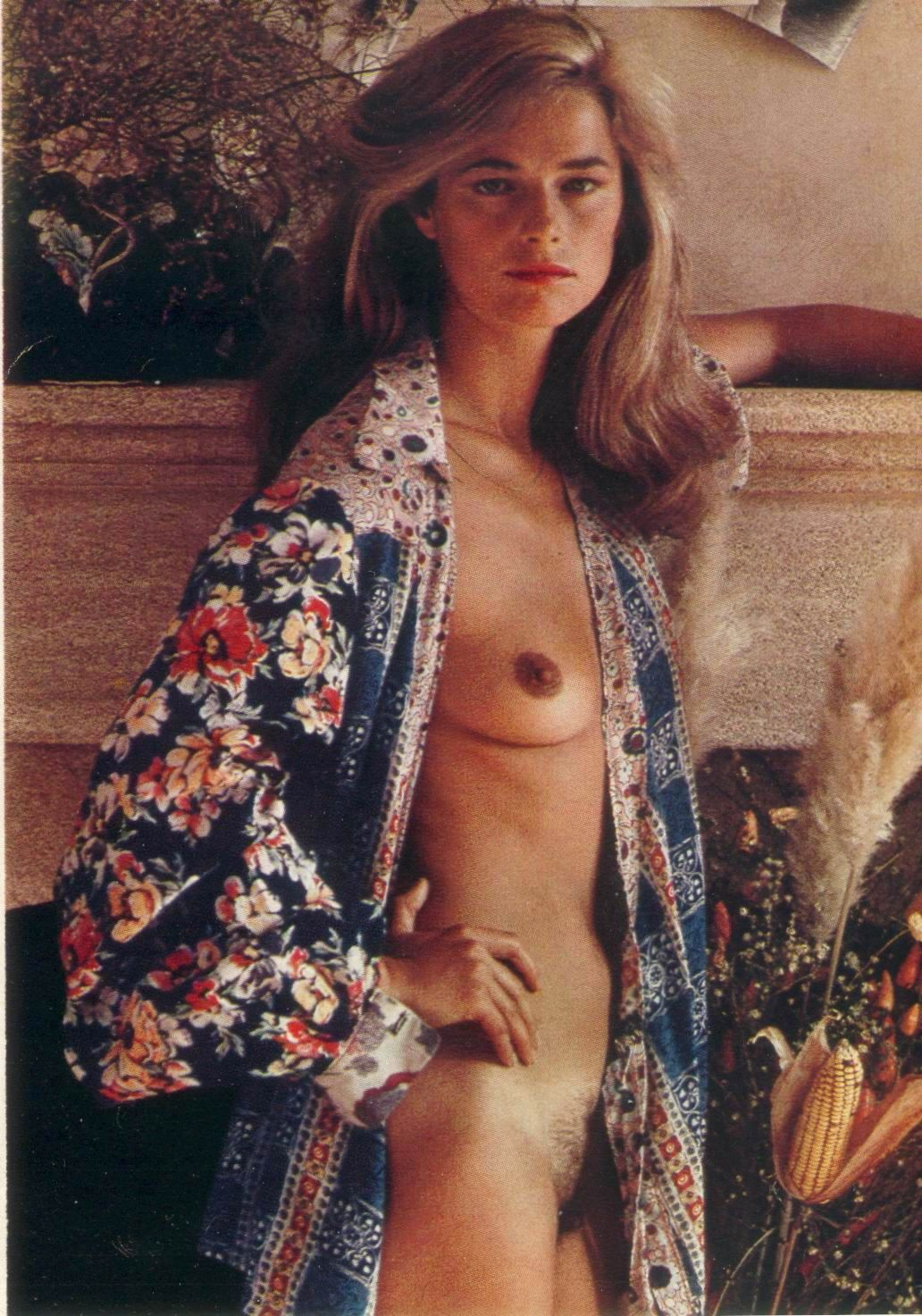 Charlotte Rampling nude tits and hairy pussy