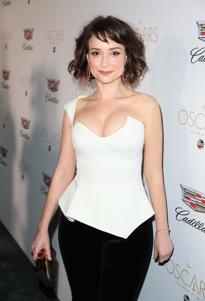 49 Sexy Milana Vayntrub Boobs Pictures Will Bring A Big ...
