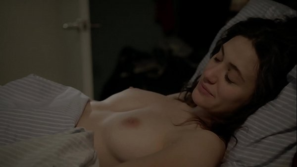 Emmy Rossum - Topless in Shameless Sex Scene - (uploaded by ...