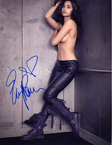 Emmy Rossum Topless Signed 8x10 Photo Certified Authentic ...