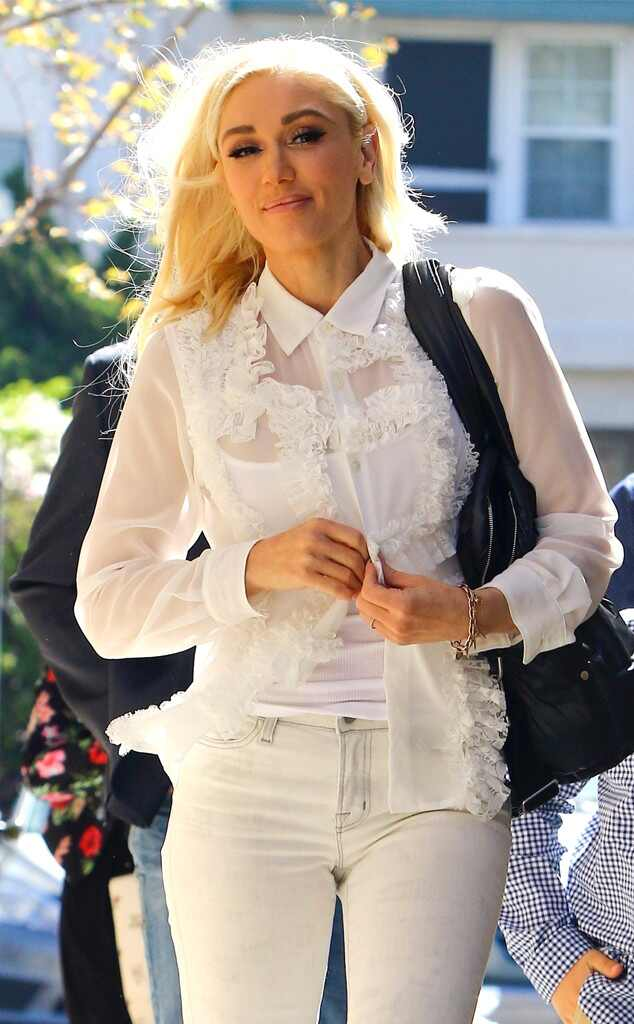 White Hot from Gwen Stefani's Street Style | E! News