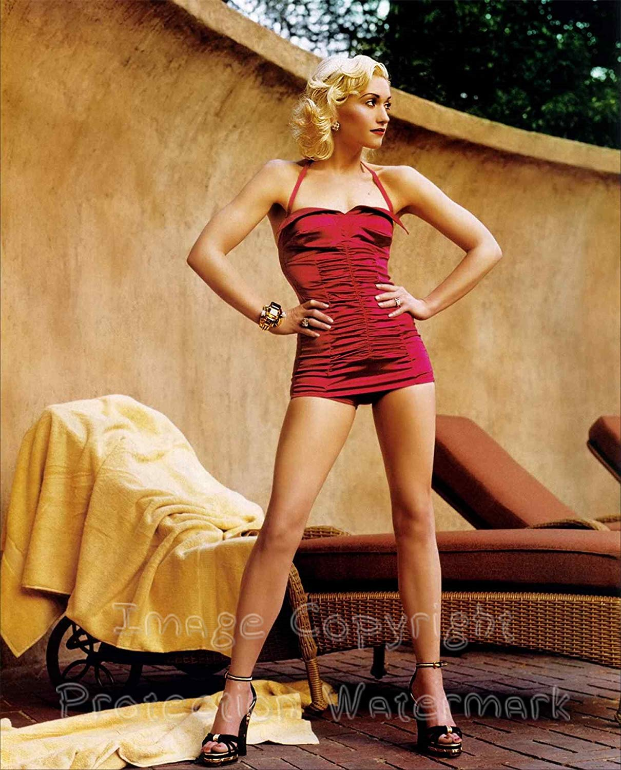 Gwen Stefani No Doubt Sexy Legs and Feet in Heels 8x10 Photo ...