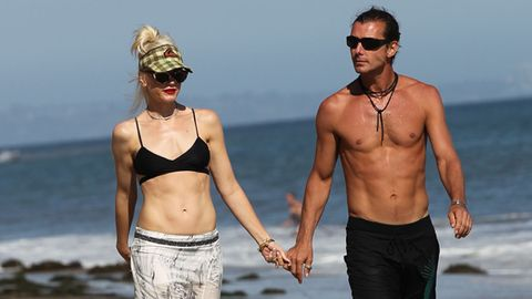 One seriously hot family: Gwen Stefani and Gavin Rossdale ...