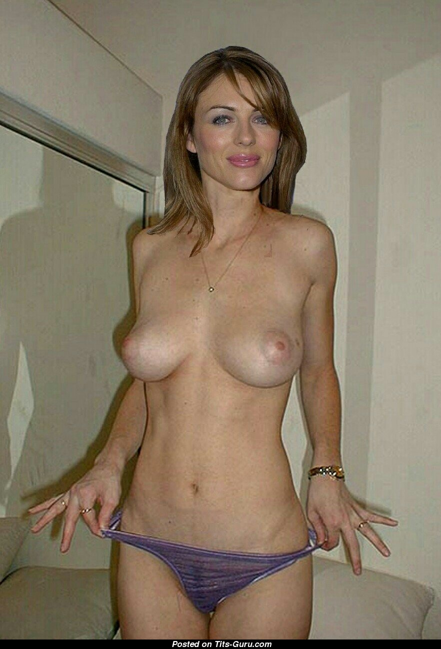 Elizabeth Hurley Nude 🌶️ 9 Pics of Hot Naked Boobs