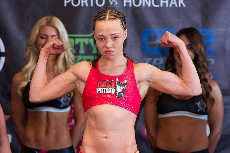 UFC's Pat Barry Goes Nuts Over Girlfriend Rose Namajunas ...