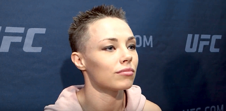 Rose Namajunas Bares All for Women's Health Naked Issue ...