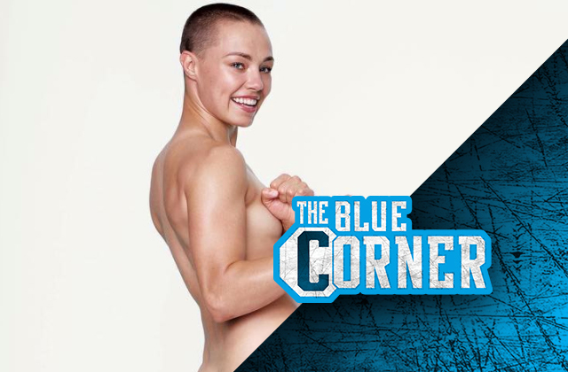 UFC contender Rose Namajunas poses nude for Women's Health ...