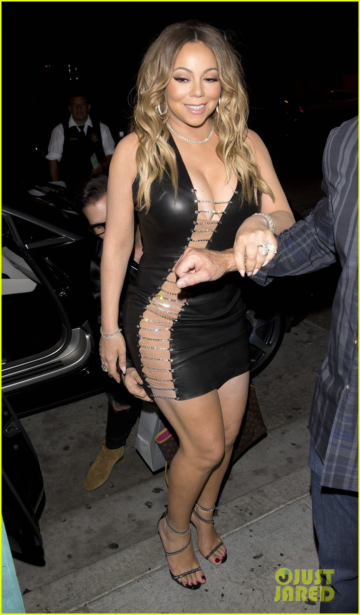 Mariah Carey Rocks a Super Sexy Dress for Dinner!: Photo ...