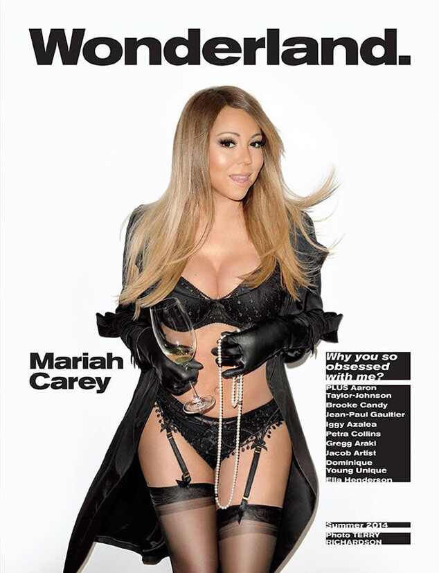 Wonderland Wowzers! from Mariah Carey's Sexiest Cleavage ...