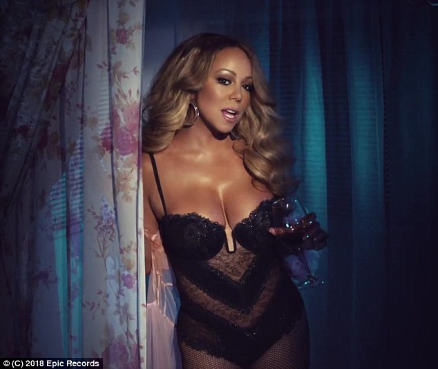 Mariah Carey sizzles in skimpy lingerie in new music video ...