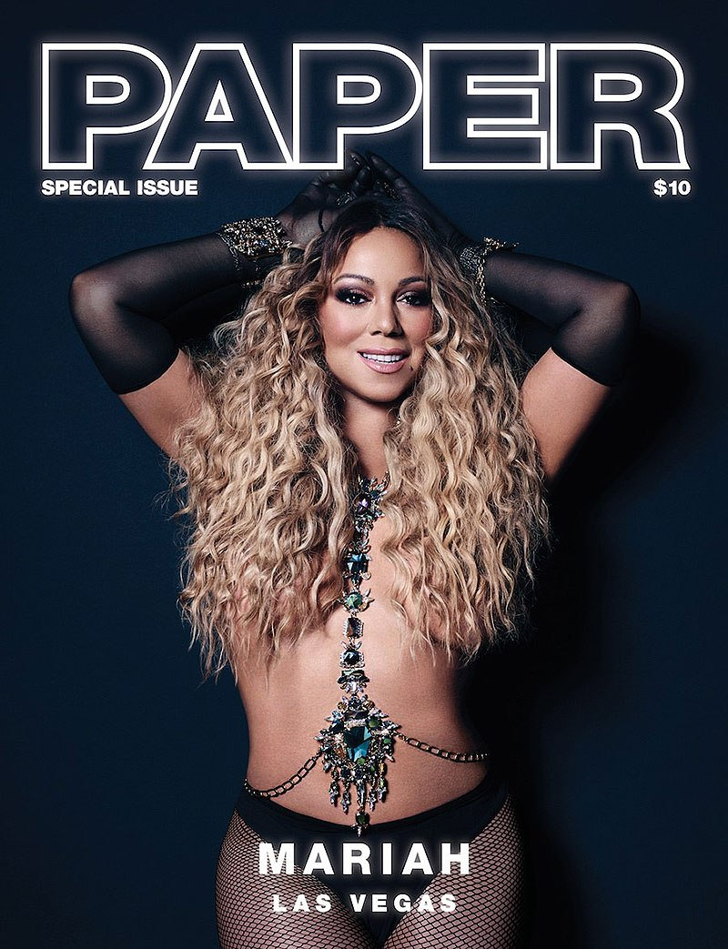 Mariah Carey In Paper Magazine — See Photos Of Her Sexy ...