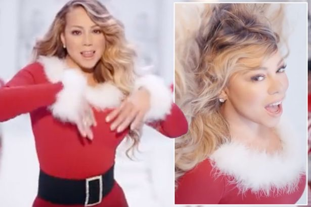 Mariah Carey teases new sexy video for All I Want For ...