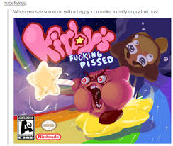 Not Kirby porn! Kirby was my first video game franchise ...