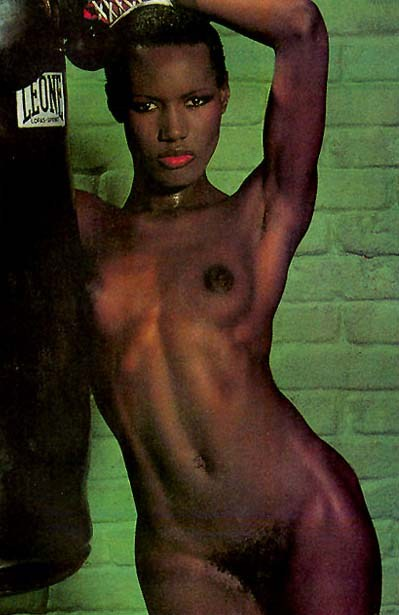 Nackt Grace Jones  60 Sexy