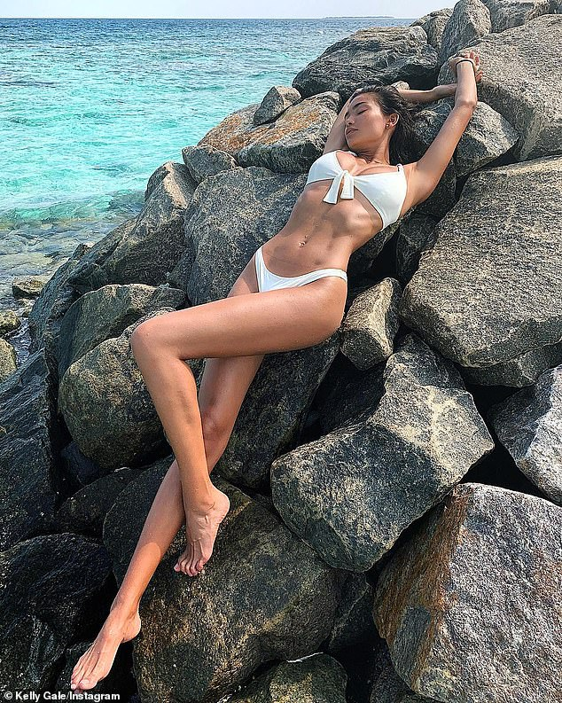 Kelly Gale shows off her flawless complexion after sharing ...