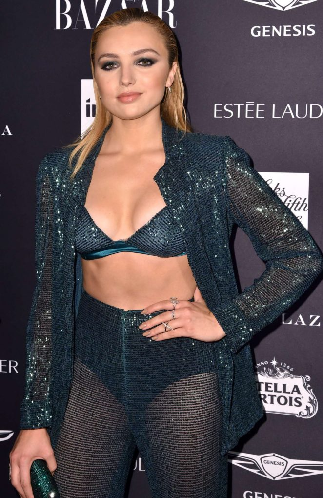 Peyton R List – 2018 Harper's Bazaar ICONS Party in New York ...