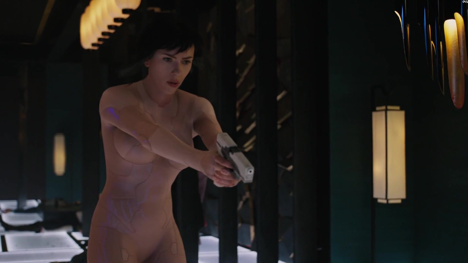 Scarlett Johansson nude - Ghost in the Shell (2017) Video ...