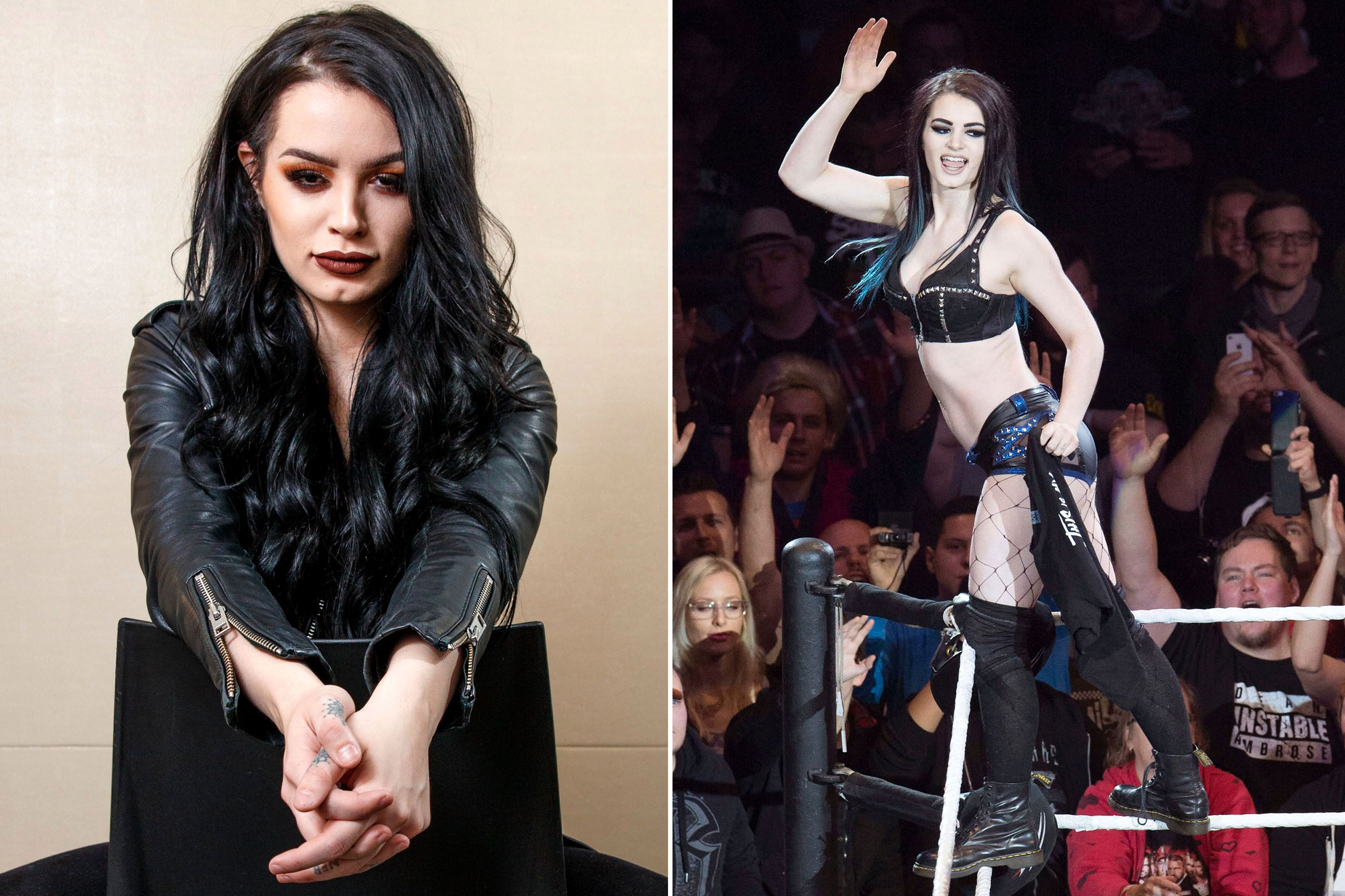 WWE star Paige on sex-tape humiliation: 'I don't wish that ...