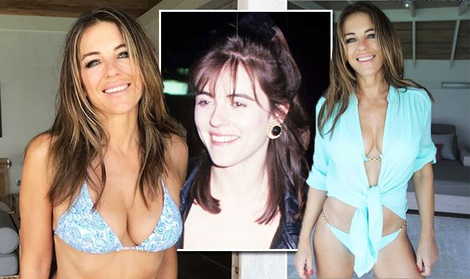 Elizabeth Hurley: Instagram star and Hugh Grant ex young and ...
