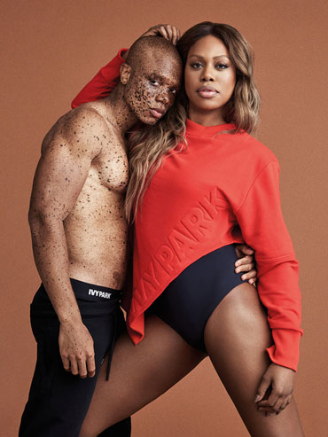 Laverne Cox Is One of the New Faces of Beyoncé's Ivy Park ...