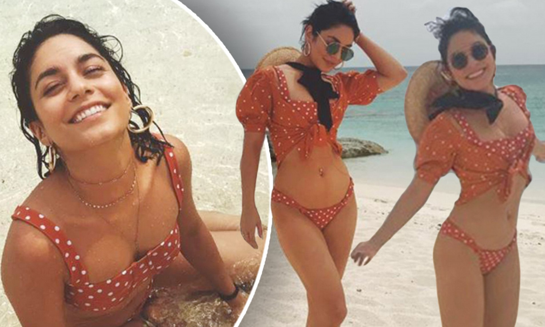 Vanessa Hudgens stuns in bikini as she says 'it's vacation ...
