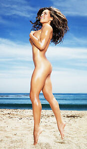 Details about Framed Print - Miesha Tate Naked on the Beach UFC Fighter  (Picture Poster MMA)
