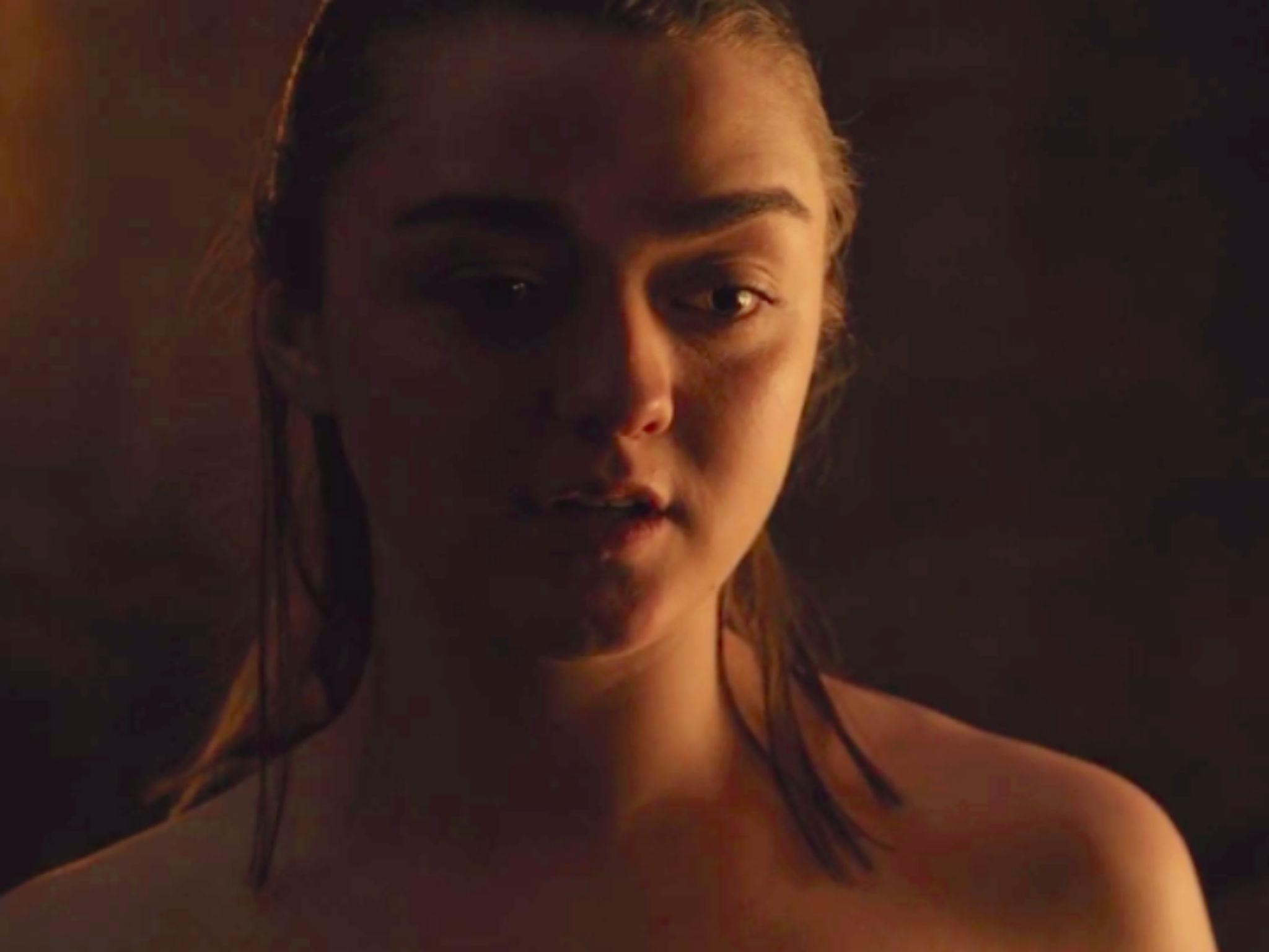 Arya star Maisie Williams thought Game of Thrones sex scene ...