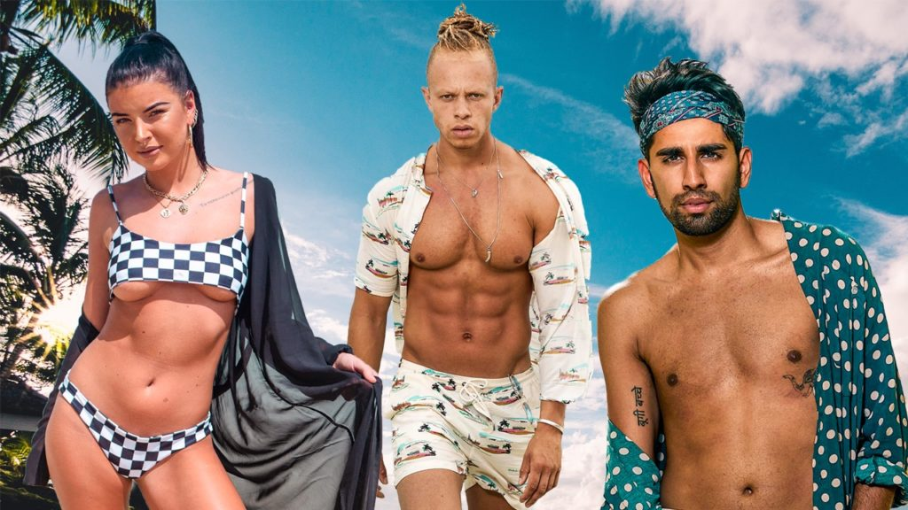 Shipwrecked's gay contestants Beth Spiby, Chris Jammer and ...