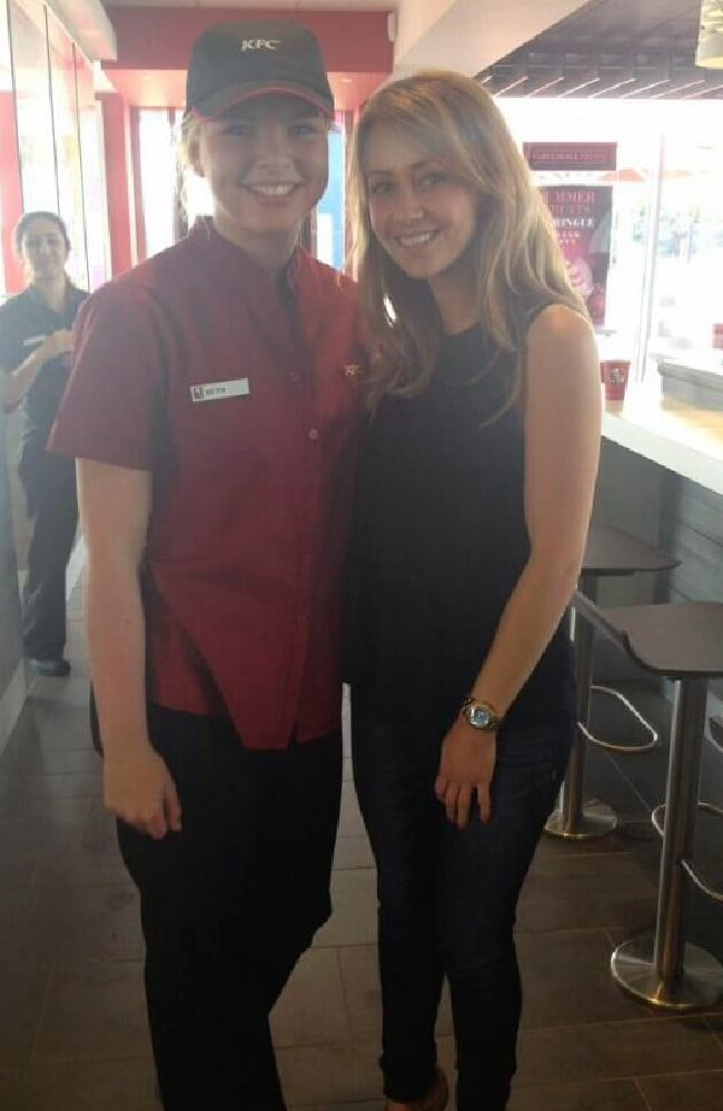 KFC worker Bethany Spiby now sells topless photos instead of ...