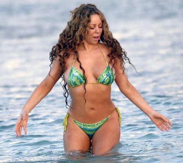 The hottest pictures of Mariah Carey in a bikini, swimsuit ...