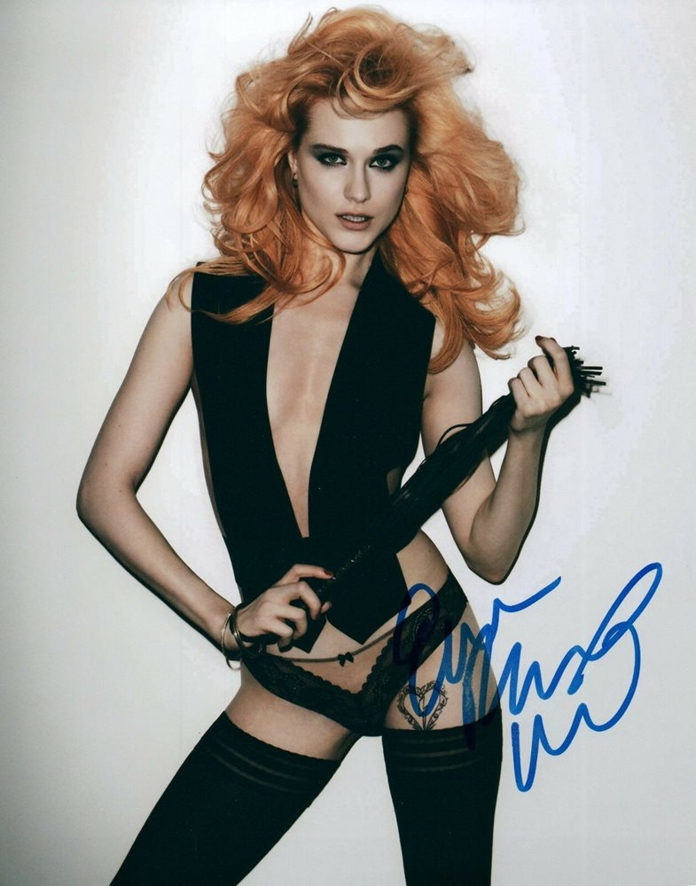 Evan Rachel Wood Sexy Actress Signed 8x10 Autographed Photo COA 1
