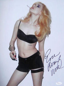 Details about Evan Rachel Wood Sexy Signed 11x14 Photo JSA