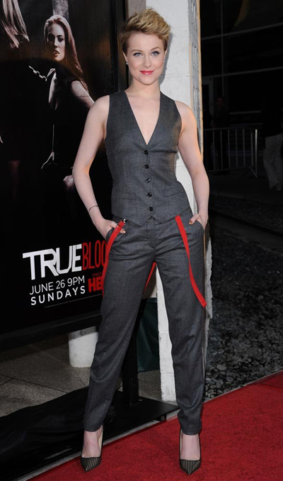 Daily Gaydar: Evan Rachel Wood's Hot New Look and Amber ...