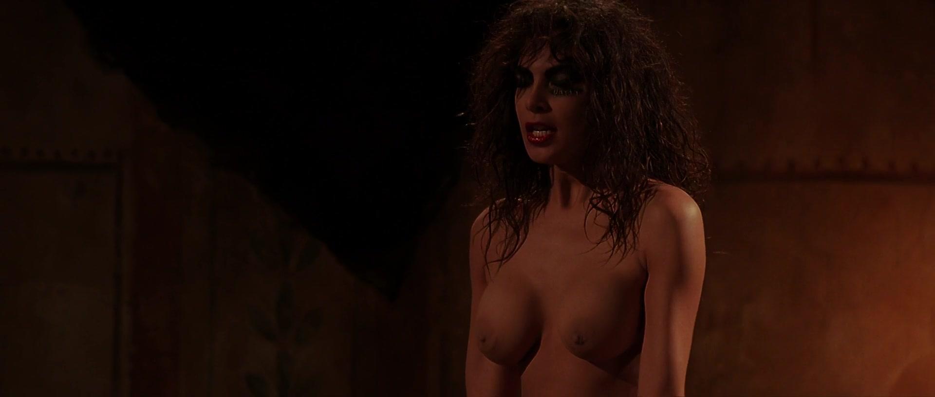 Asia argento breasts, bush scene in scarlet diva