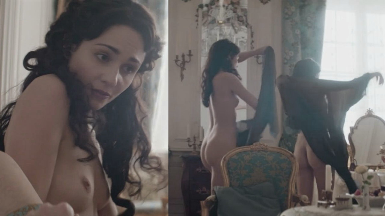 Naked Tuppence Middleton in War & Peace < ANCENSORED