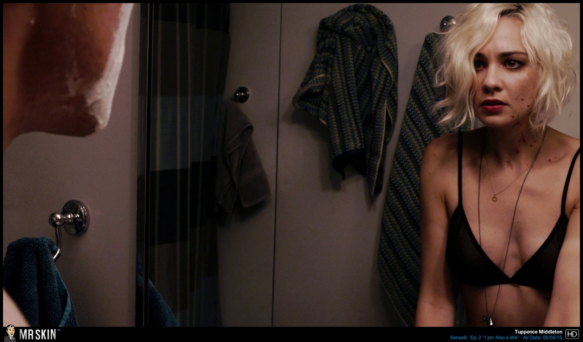 Tuppence Middleton Nude Tits As A Blonde