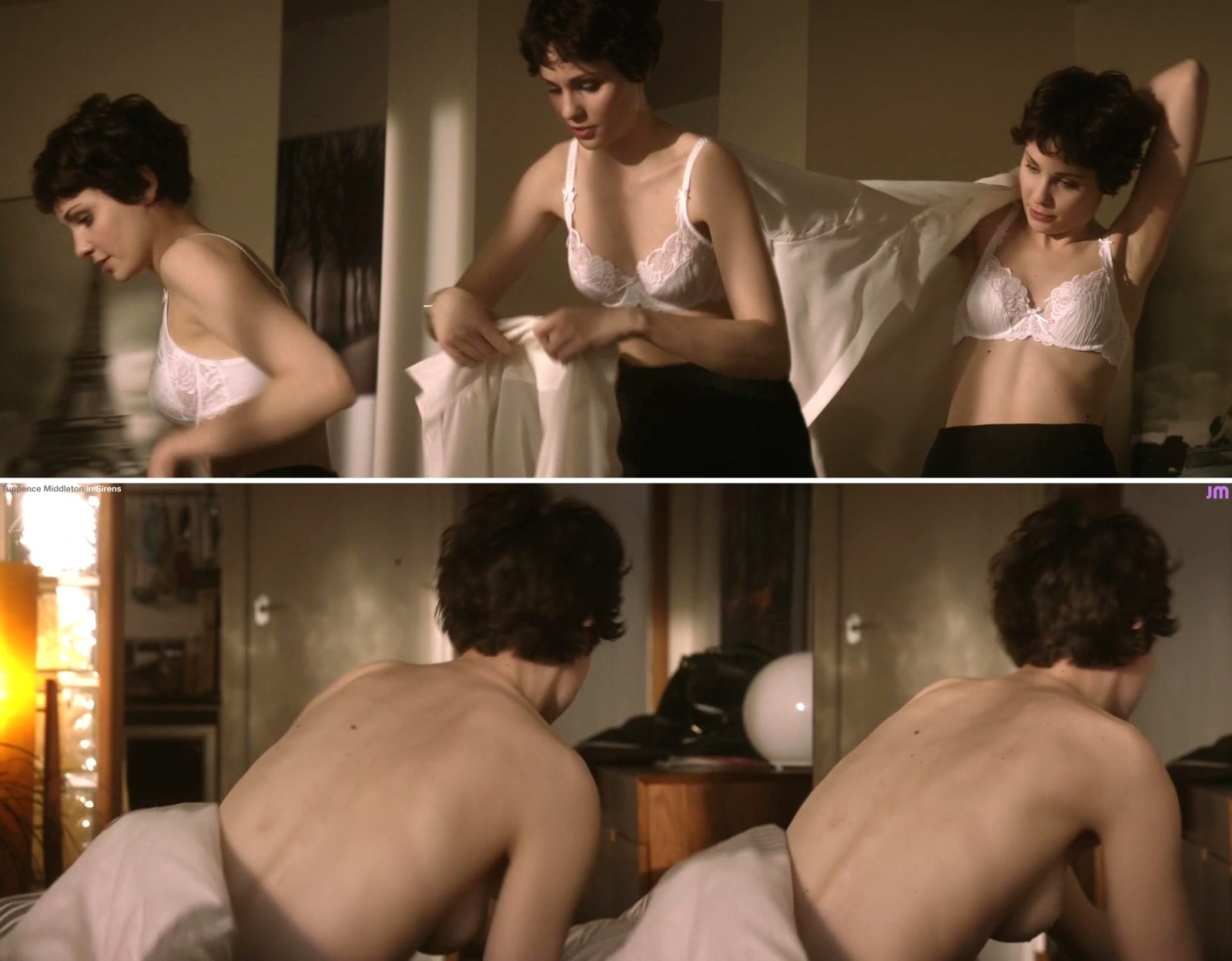 Naked Tuppence Middleton in Sirens (UK) < ANCENSORED