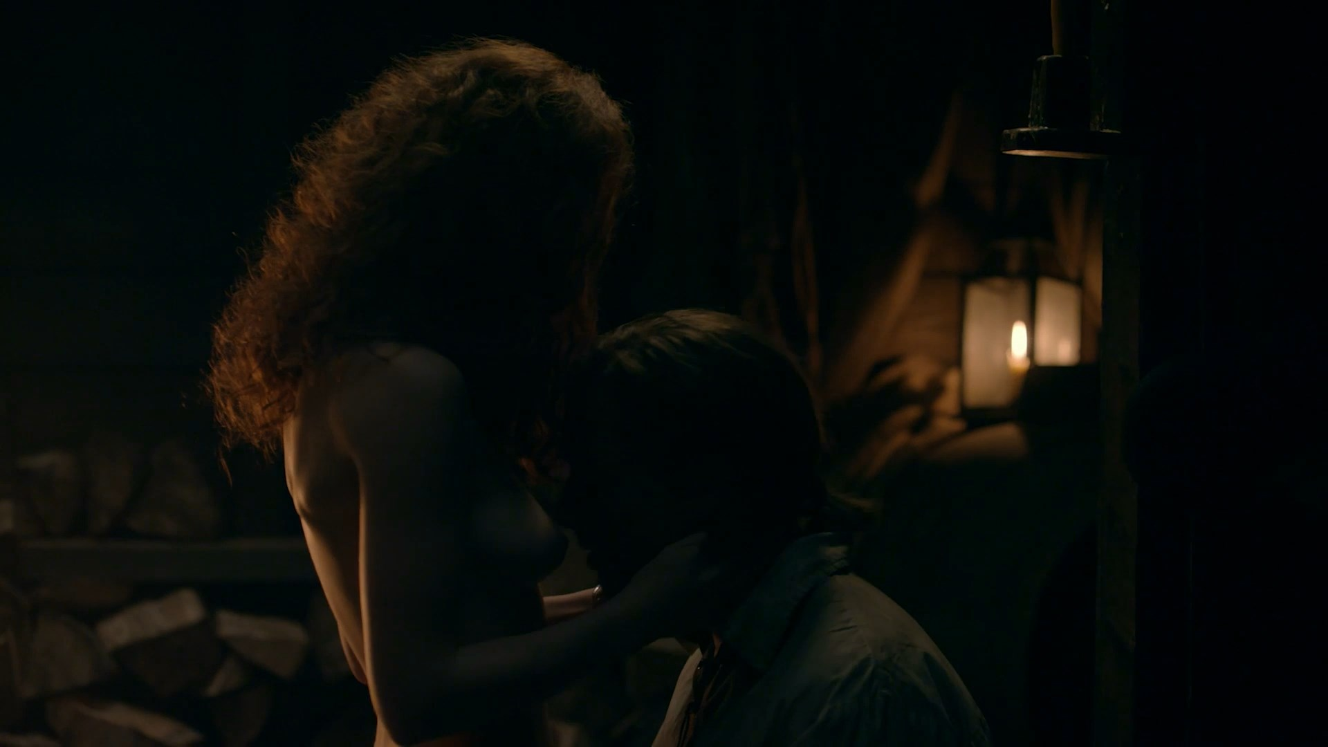 Nude video celebs » Sophie Skelton nude - Outlander s04e08 ...