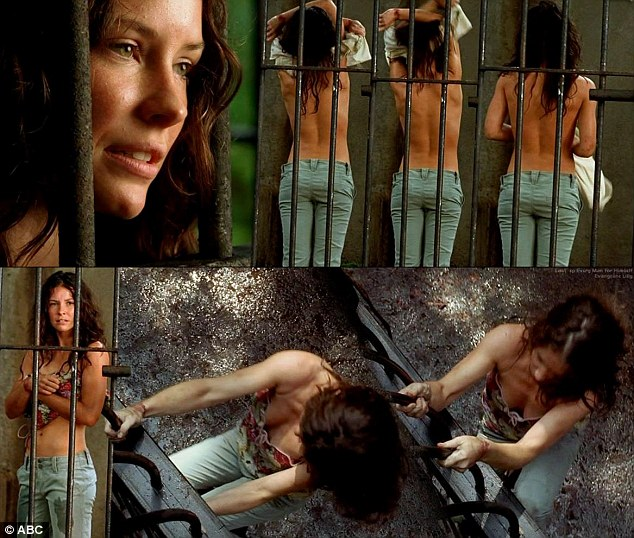 Evangeline Lilly recalls horror when she was 'cornered into ...